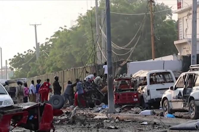 Li Somalîyê êrîş: 23 mirî 40 birîndar