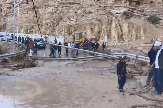 Ürdün'de sel: 11 ölü