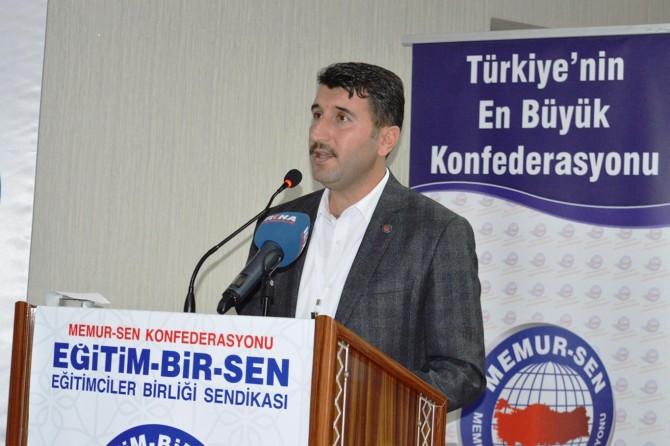 Eğitim-Bir-Sen Bitlis şube başkanı güven tazeledi