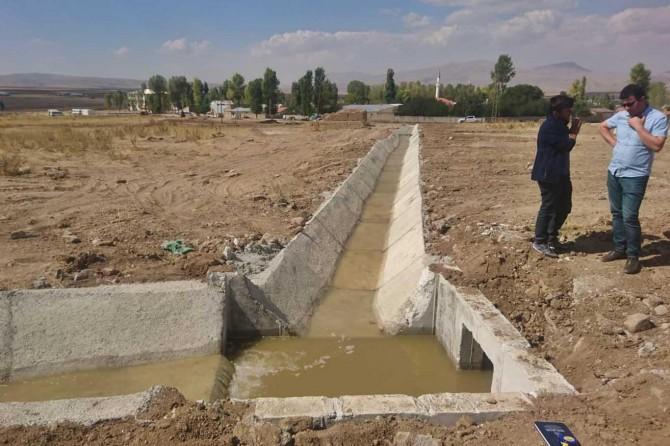 Dönerdere ve Emek'te susuz arazi kalmadı