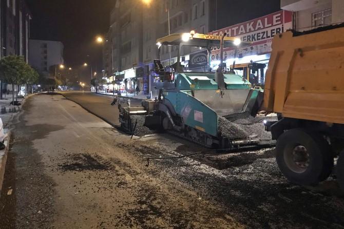 Van Büyükşehir'den asfalt çalışması