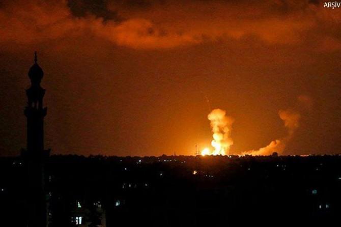 Siyonistler El Aksa televizyonunu bombaladı