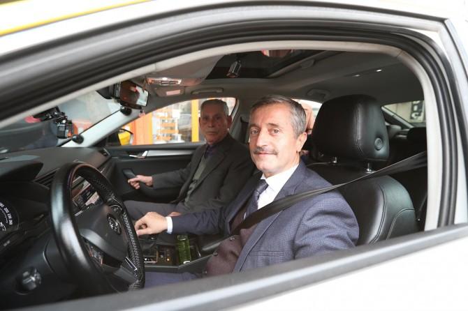 Şahinbey Belediye Başkanı taksicilik yaptı