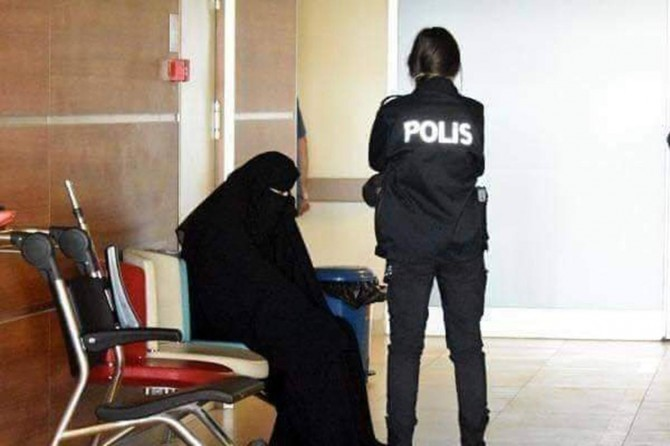 Hukuksuzca tutuklanan Emine Şahin serbest bırakıldı