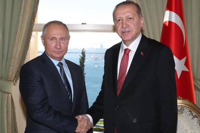 Putin TürkAkım projesi için Türkiye'ye geliyor