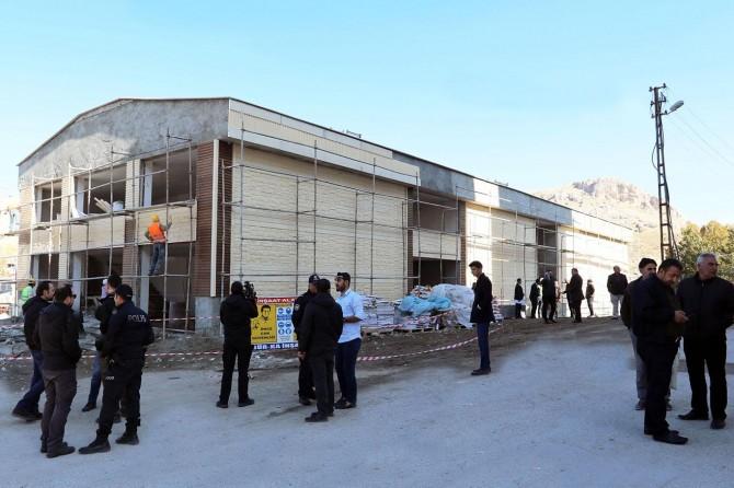 Valilik Sakatatçılar Çarşısı'nda İncelemelerde bulundu