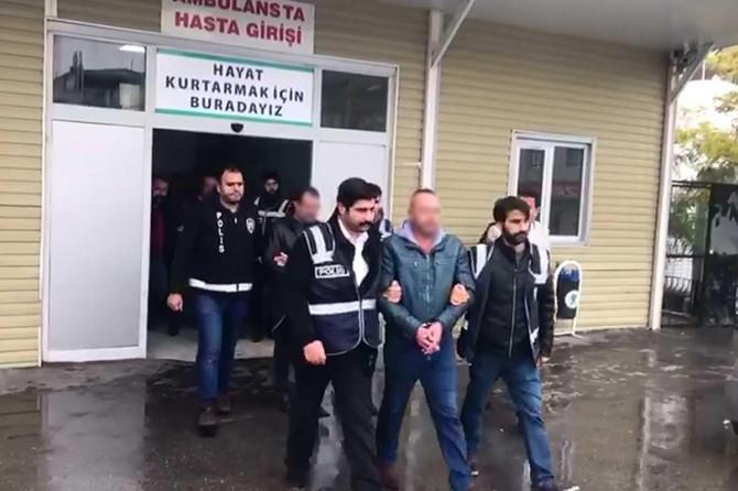 Gaziantep'te çaldıkları kamyonu parçalayan 7 şüpheli gözaltına alındı