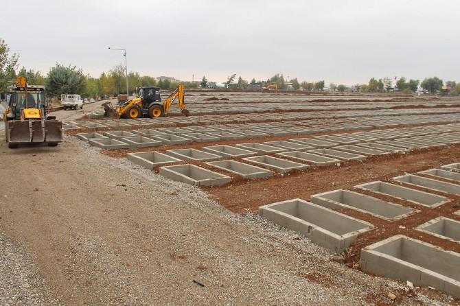 Diyarbakır'da yeni mezarlık alanı oluşturuldu
