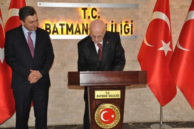 Eski Meclis Başkanı Kahraman Batman'da