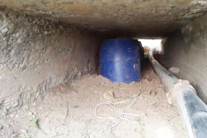 Siirt Şirvan'da menfeze bomba yerleştirmek için keşif yapan PKK'li tutuklandı