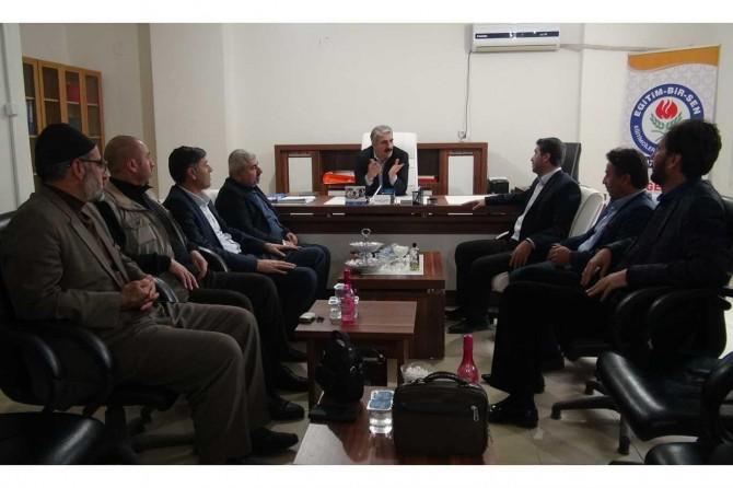 HÜDA PAR Mardin İl Başkanlığından Eğitim-Bir-Sen'e ziyaret