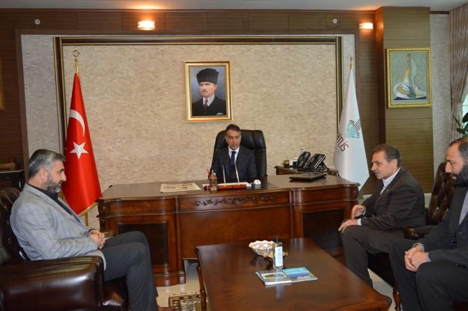 HÜDA PAR'dan yeni Bitlis Valisine hayırlı olsun ziyareti