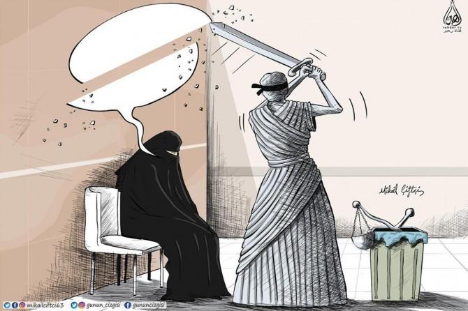 Emine Şahin gerekçe gösterilerek annesi işten çıkarıldı