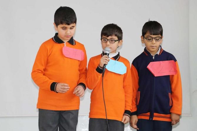 Görme engelli öğrencilerden Mevlid-i Nebi etkinliği
