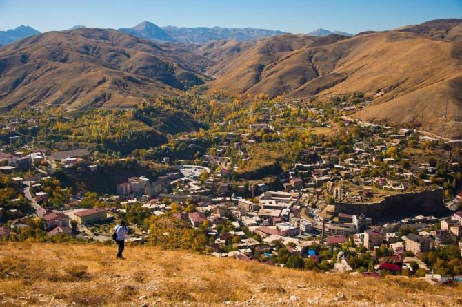 Bitlis'in sonbahar manzarası göz kamaştırıyor