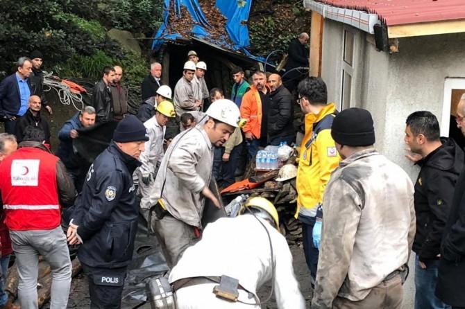 Li Zonguldakê maden hilweşîya