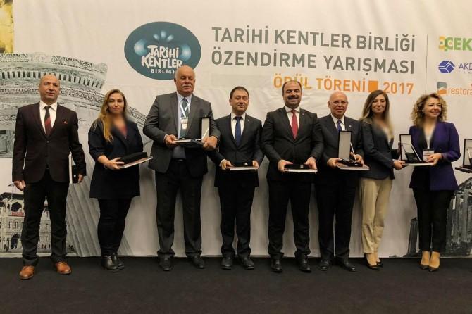 """Şahinbey Belediyesi """"Uygulama Ödülü""""ne layık görüldü"""