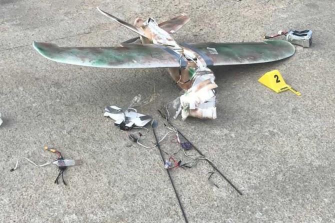 Hakkâri'de patlayıcı düzenekli maket uçak ele geçirildi