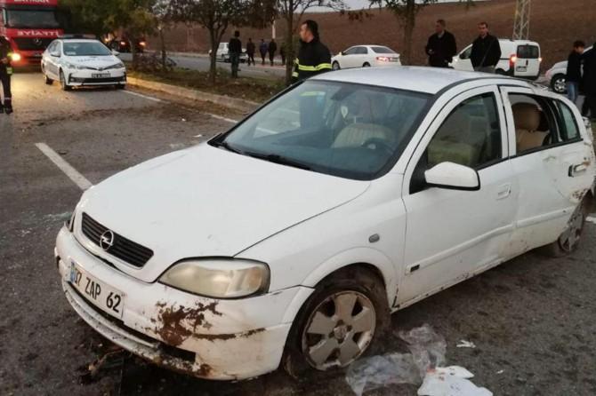 Batman-Silvan Karayolunda otomobil takla attı: 6 yaralı