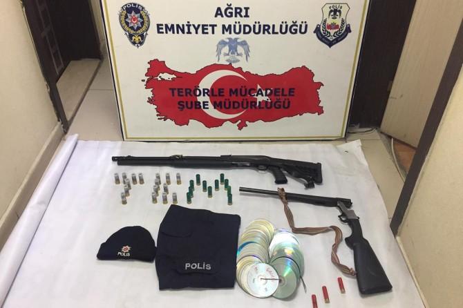 Ağrı'da PKK operasyonu: 49 gözaltı