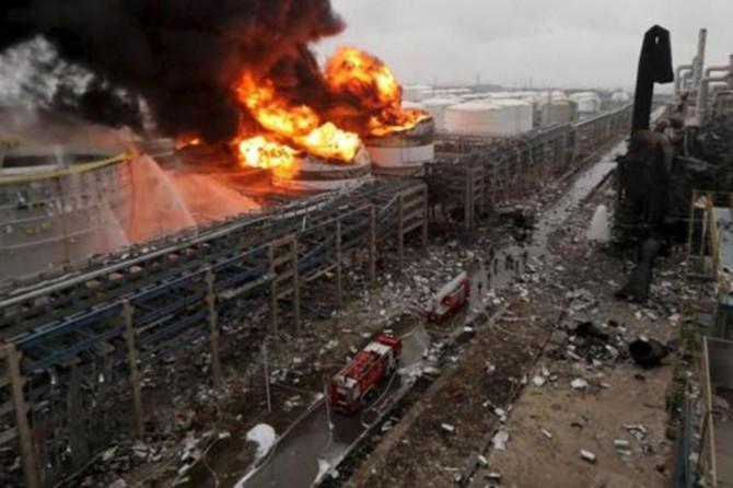 Çin'de patlama: 22 ölü