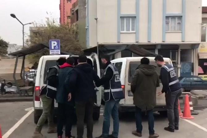 Gaziantep'te cezaevi firarisi kovalamaca sonucu yakalandı
