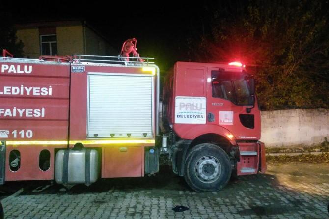 Elazığ Palu'da aynı ev 24 saat içinde ikinci kez yandı