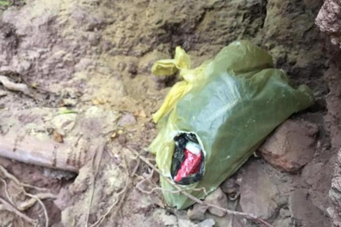 Siirt Şirvan'da patlayıcı madde ele geçirildi