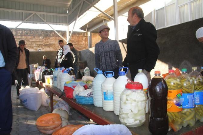 Yöresel köy ürünlerine yoğun ilgi