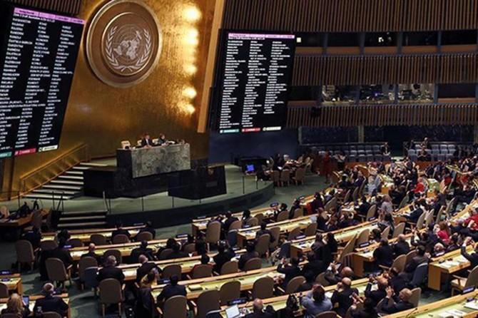 ABD'nin Filistin direnişini kınadığı tasarısı BM'de oylanacak