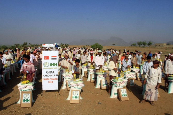 İHH'dan Yemen'e acil yardım