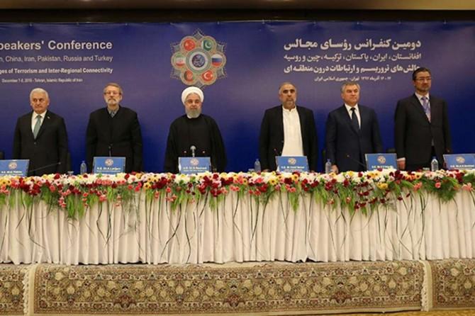 2. Parlamento Başkanları Konferansı başladı