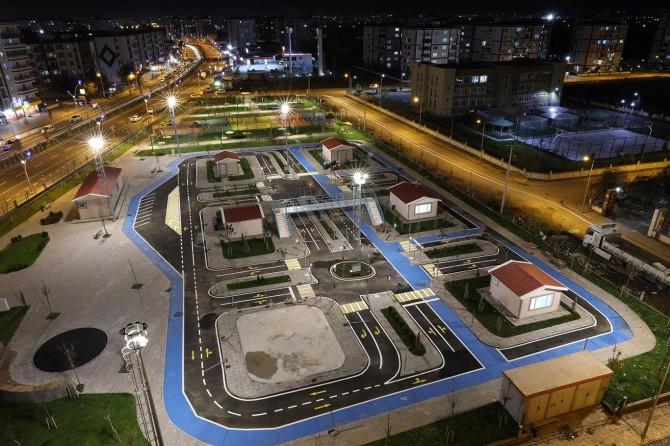 Diyarbakır'da çocuklar için Trafik Eğitim Parkı açıldı