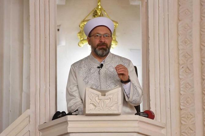 Müslümanları ayet ile uyarmak son derece tabiî bir durumdur