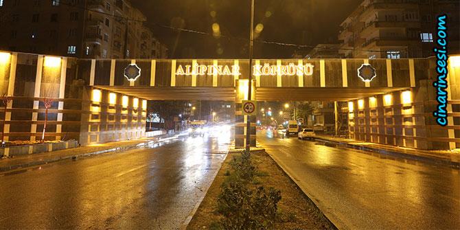 Alipınar Köprüsü yenilendi