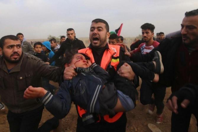 İşgalcilerin yaraladığı 4 yaşındaki Filistinli çocuk şehid oldu