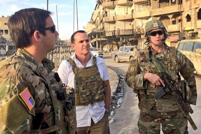 ABD: İç güvenlik güçleri kurulana kadar Suriye'de kalacağız