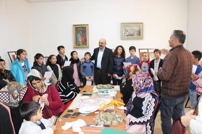 Şanlıurfa Bozova'da sedef kakma kursu açıldı
