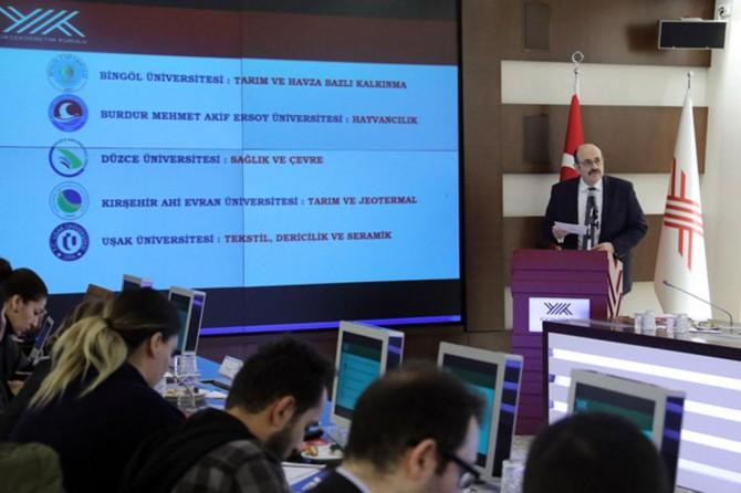 5 üniversite ihtisaslaşma projesi kapsamına alındı
