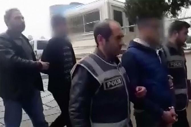 Gaziantep'te uyuşturucu ve gasptan 4 şüpheliye tutuklama