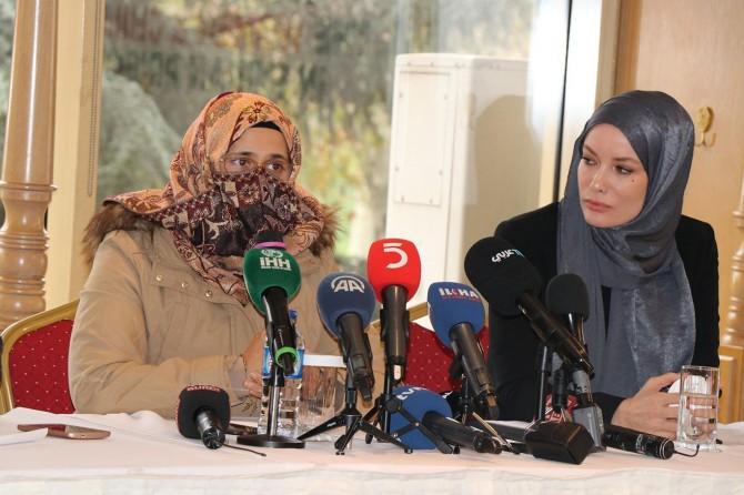 Women victims of war await assistance