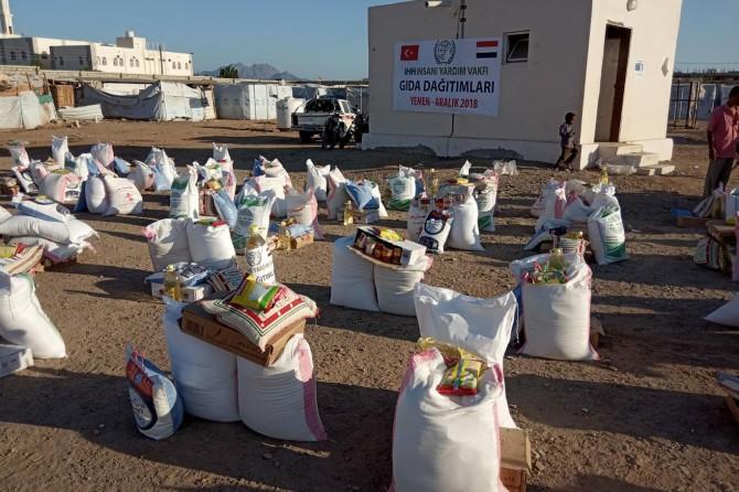 İHH Yemen'de acil yardım çalışmalarına başladı