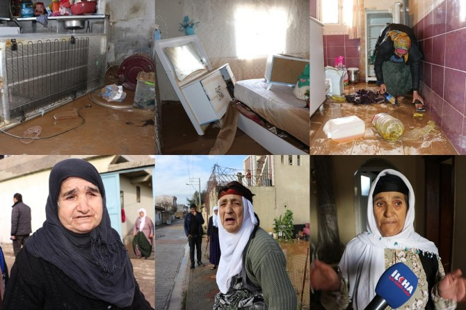 Mardin'de sel mağduru aileler yardım bekliyor