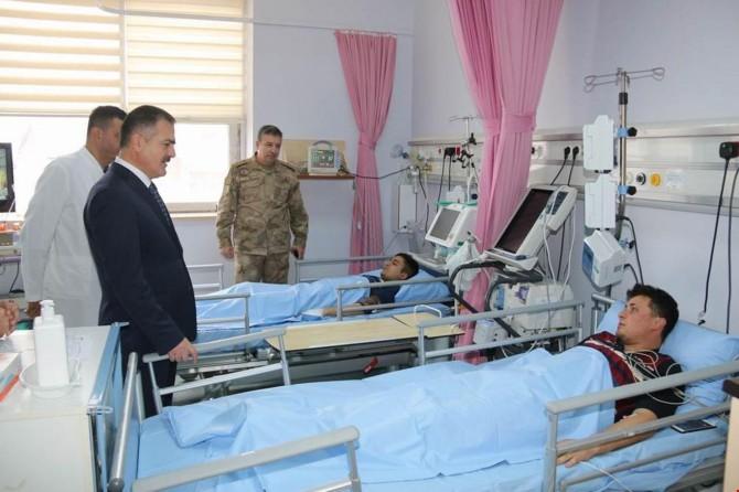 Hakkari Çukurca'da yıldırım düşmesi sonucu 6 asker yaralandı