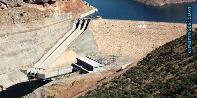 Dicle Barajının kapağı patladı