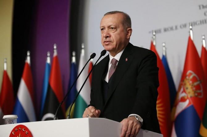 Cumhurbaşkanı Erdoğan'dan ABD'ye Münbiç uyarısı