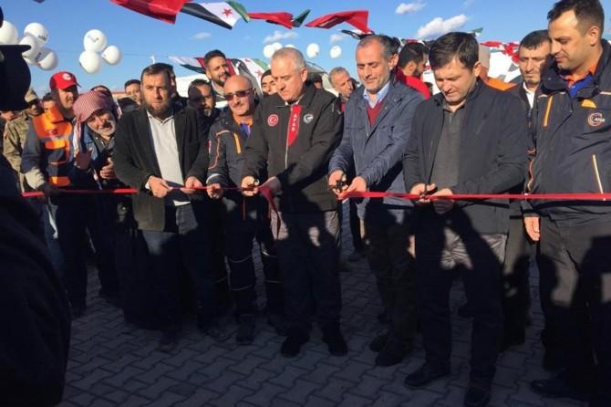 Fırat Kalkanı bölgesinde 9 yeni okul açıldı