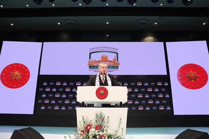 Cumhurbaşkanı Erdoğan: Kudüs davası hepimizin ortak davasıdır