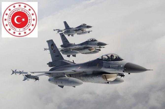 Dışişleri: Irak'ta PKK'ye yönelik operasyonlar devam edecek