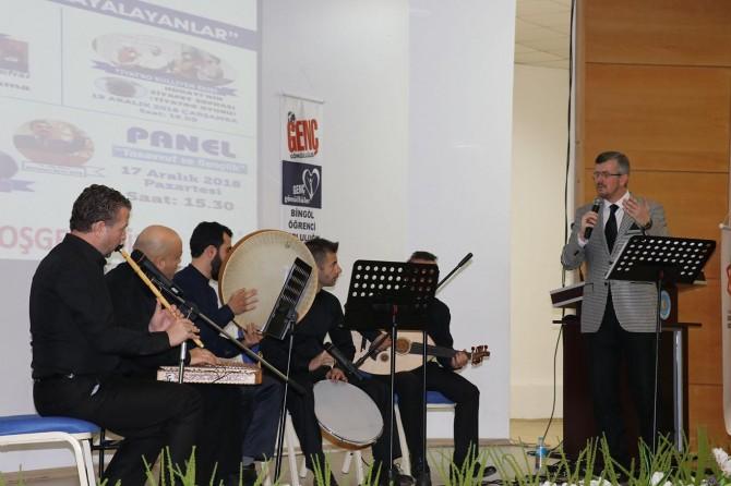 Bingöl'de tasavvuf musikisi ve şiir dinletisi
